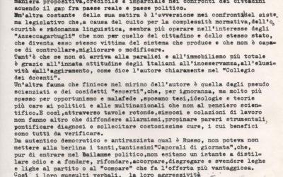 Recensione Amori disamori blablaismi – Michele Albo