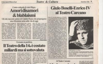 Recensione Amori disamori blablaismi – Milano sud